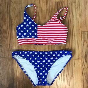 Red white & blue bikini